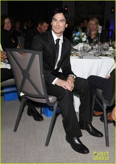 #fiftyshades.... Christian Grey at Charity fuction.