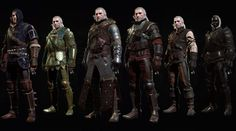 The Witcher 3 Blood and Wine All Armor Sets
