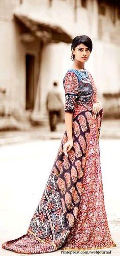 Shalini James' Mantra: Indian by Choice Collection - Kalamkari prints, mashru…