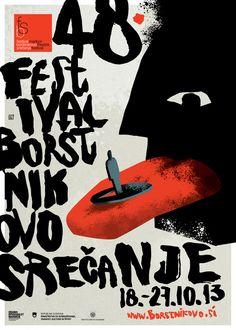 Festival Maribor : Theater festival poster