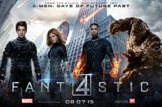 The exclusive new Fantastic Four poster has arrived.