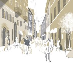 CITY CYCLING GUIDES - Europe by Riccardo Guasco, via Behance