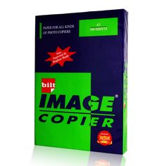 Price Rs.1,755/- Buy BILT Image Copy Paper White A4 70 GSM Box of 10 Reams Online in India