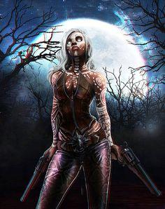Witch Demon Hunte by Geronimo Ribaya