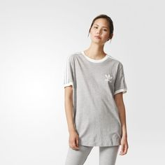 adidas 3-streifen t-shirt damen