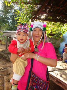 Thailand Village close to Chiang Rai