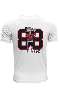 Patrick Kane Stanley Cup Celebration T-Shirt