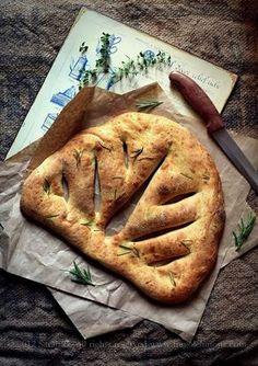 Мои кулинарные рецепты: Французская лепешка Фугасс от Эктора Хименес-Браво
