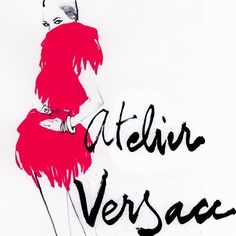 #fashionillustration #versace