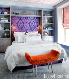 Colorful Small Apartment - Small Space Color Ideas