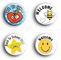 School Badges, Campaign, Students, Teacher, Buttons, Content, Medium, Craft, Fun