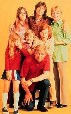 The Partridge Family - yup that is David Cassidy in the middle at the back!