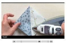 Tuesday Tutorial: Pressing Basics, a free quilting video lesson presented by Beth Hayes, editor-in-chief of McCall's Quilting.