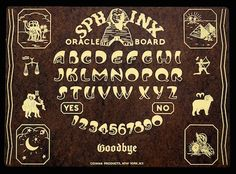 All the Different Ouija Boards you Never Knew Existed Witch Board, Father Time, Magick, Wicca, Witchcraft, Dangerous Minds, Fortune Telling, Palmistry, You Never Know