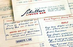 (via Art of the Menu: Schiller's Liquor Bar)