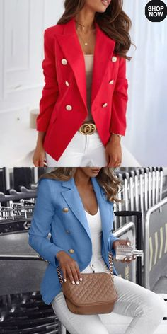 Stylish Work Outfits, Business Casual Outfits, Professional Outfits, Cute Casual Outfits, Girly Outfits, Pretty Outfits, Beautiful Outfits, Western Outfits Women, Blazer Outfits For Women