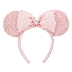 58947898e46426 Every day at the Disney Parks sparkles with smiles in Minnie's sequined  mouse ear headband and