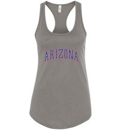 NCAA University of Arizona Wildcats U of A - Racerback Tank - UOFA1224-a