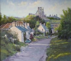 Late Afternoon Corfe