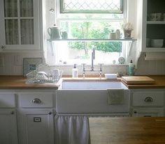 kitchen window shelf!