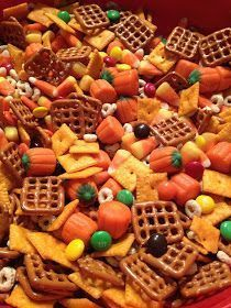 A Daily Dose of Davis: Project Pinterest: {Spiked} Crockpot Carmel Apple Cider, A Halloween Treat for Kids & The Best Fall Snack Mix Ever | Popular Images