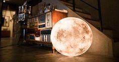 ¡Te vas a quedar con la boca abierta! Una lámpara que imita la luna y que podemos hacer nosotros en casa.
