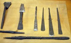 Novgorod  Metal tools for woodworking.