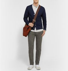 Todd Snyder - Textured-Knit Wool Cardigan | MR PORTER