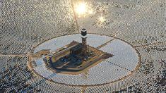 Mira La Planta De Energía Solar Más Grande Del Mundo Que Acaba De Comenzar A Funcionar