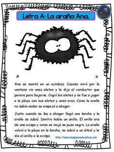 Cuentos para niños y niñas con las letras el abecedario (1) - Imagenes Educativas