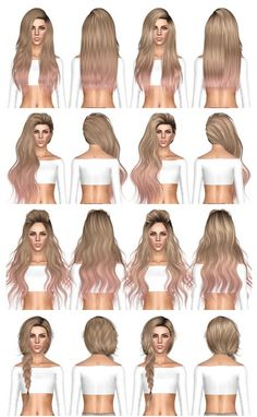 Nightcrawler Violet, Skysims 264, Skysims 265, Stealthic Summer Haze hairstyles retextured by July Kapo for Sims 3 - Sims Hairs - http://simshairs.com/nightcrawler-violet-skysims-264-skysims-265-stealthic-summer-haze-hairstyles-retextured-by-july-kapo/