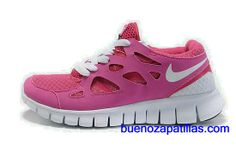 pretty nice 2960a b26ff Nike Free Run +2 Women s Deep Pink White  9fNYo  Nike Free Run