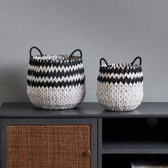 Voyage Handmade Baskets Set of 2