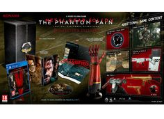 Metal Gear Solid V Phantom Pain Collectors Edition - PS4 Game - http://tech.bybrand.gr/metal-gear-solid-v-phantom-pain-collectors-edition-ps4-game/