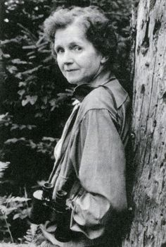 Rachel Carson is the founder of the modern environmental movement. She courageously spoke out against the chemical industry and their use of pesticides. Her book, Silent Spring, reminded us we are all part of a vulnerable world and we all have a responsibility to protect it. In 1963 she testified to Congress calling for measures to protect human health and the environment.