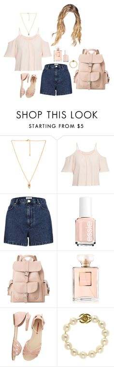 """""""Untitled #1160"""" by rachel-rentz ❤ liked on Polyvore featuring Love 21, Parisian, River Island, Essie, MANGO and Chanel"""