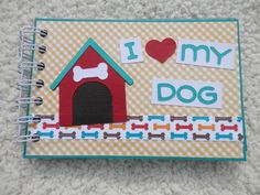 4x6 Dog Mini Scrapbook Album