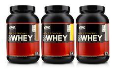 2lb. Optimum Nutrition Gold Standard Whey-Protein Tub   Groupon