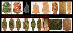 Lastre di rame nativo battuto della Cultura del Mississippi tra 800-1600 CE. Questi reperti sono stati trovati in Florida, Georgia, Illinois, Mississippi, Oklahoma, Tennessee e Wisconsin, sono prodotti del complesso cerimoniale del sud-est. Gli esempi più notevoli rappresentano rapaci o uomini-falco.