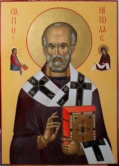 иконописец  Марина Шиптя Saint Nicholas, Orthodox Icons, Children, Movie Posters, Saints, Young Children, Boys, Kids, Film Poster