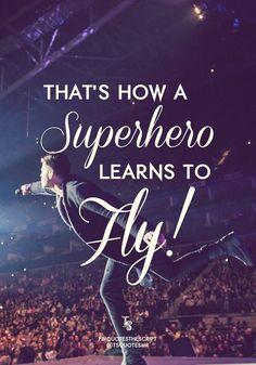 Superheroes (The Script)
