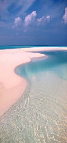 Beach with a lagoon on a inhabited island, Maldives - Seatech Marine Products & Daily Watermakers