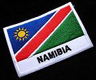 REPUBLIC OF NAMIBIA NAMIBIAN NATIONAL FLAG Sew on Patch + Free Shipping - http://sewingpins.net/sewing/notions/republic-of-namibia-namibian-national-flag-sew-on-patch-free-shipping/