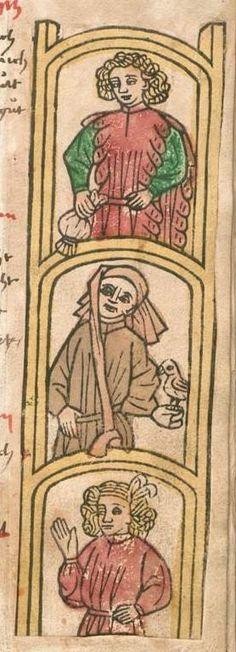 Fastnachtsspiele, Sammelhandschrift Augsburg und Schwaben, ca. 1486 bis 1520 4 Cod H 27 Folio 31