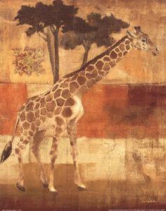 Animals on Safari I