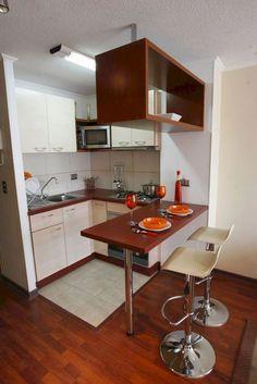 Rustic Kitchen Cabinets, Rustic Kitchen Design, Best Kitchen Designs, Rustic Design, Small Kitchen Set, Kitchen On A Budget, New Kitchen, Kitchen Bars, Stylish Kitchen