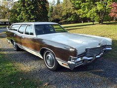 1972 - Mercury Marquis Colony Park station wagon
