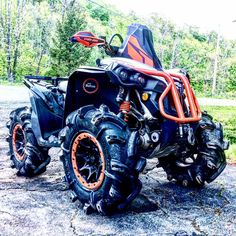 Can am renegade Big Girl Toys, Toys For Girls, Atv Motocross, Four Wheelers, Can Am, Face Design, Dirtbikes, Atvs, Go Kart
