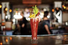 Telluride Restaurants | The EPIC Tomboy Tavern Bloody Mary