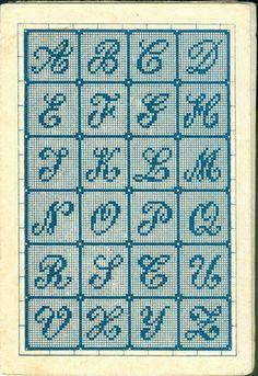 Darling Make Alphabet Friendship Bracelets Ideas. Wonderful Make Alphabet Friendship Bracelets Ideas. Cross Stitch Alphabet Patterns, Embroidery Alphabet, Cross Stitch Letters, Cross Stitch Designs, Embroidery Patterns, Stitch Patterns, Crochet Cross, Filet Crochet, Cross Stitching